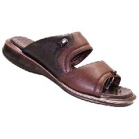 Men's Footwear-45 Black / Brown