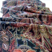 Digital Printed Wool Shawl 05