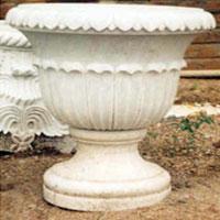 Marble Flower Pot (02)