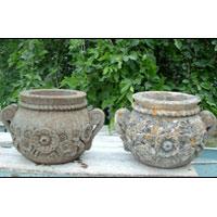 Marble Flower Pot (03)