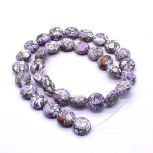 FIRC-202 Howlite Gemstone Bead
