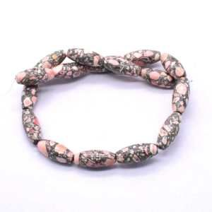 FIRC-211 Howlite Gemstone Bead