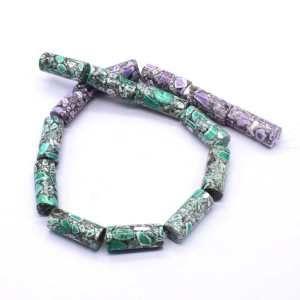 FIRC-215 Howlite Gemstone Bead