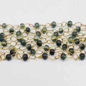 GSC-226 Glass Beads Chain