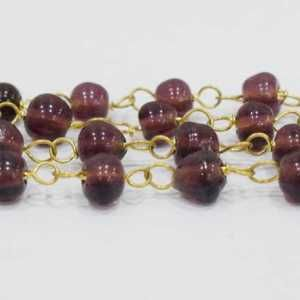 GSC-251 Glass Beads Chain