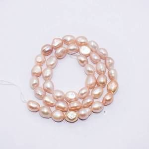 PULZ-036 Light Pink Shell Pearl Bead