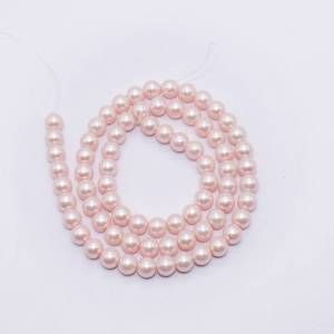 PULZ-037 Light Pink Shell Pearl Bead