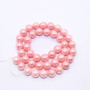 PULZ-040 Light Pink Shell Pearl Bead
