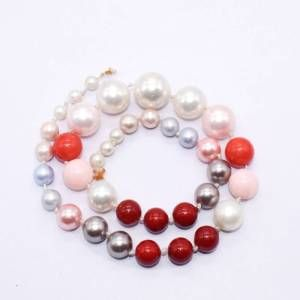 PULZ-041 Light Pink Shell Pearl Bead