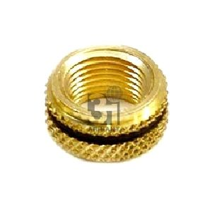 Brass Diamond Knurled Inserts