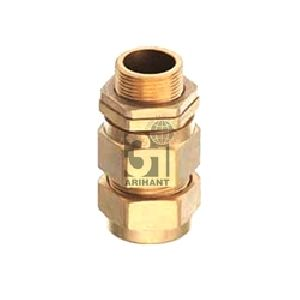 E1W Industrial Brass Cable Glands