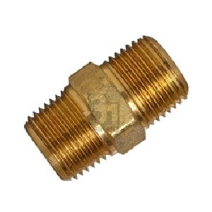 MPT Brass Hex Nipple