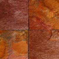 The Raja Red Offered By Us As Part Of Our Slate Tiles Product Range Has Been Termed Best Available Option In Market Because It Is With
