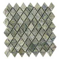 Forest Green Mosaic Tiles