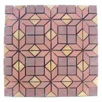 Pink Purple Mosaic Tiles