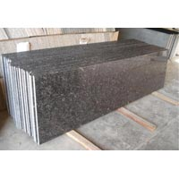 Silver Pearl Full Bullnosed Slab Granite