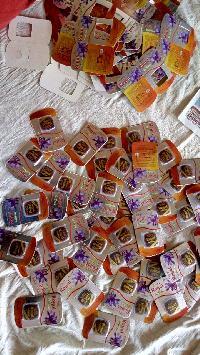 Saffron Packaging Material 03