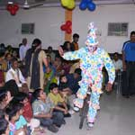 Birthday Party Joker Clown Arrangement