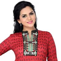 The Ethnically Eloquent Indian Designer Tunic with Embroidery
