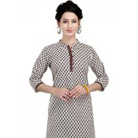 The Motif Brigade Simple Cotton Tunic for Women