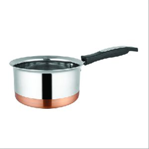 Copper Base Saucepan