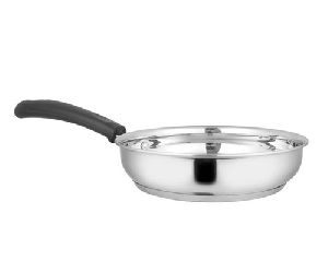 Stainless Steel Induction Base Fry Pan
