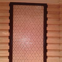 Geometric Glass Panel