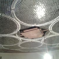 Thikri Glass Work on Ceiling Domes