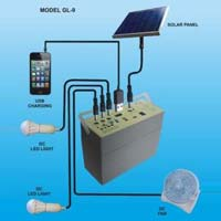 Solar Home Lighting System (GL-9)