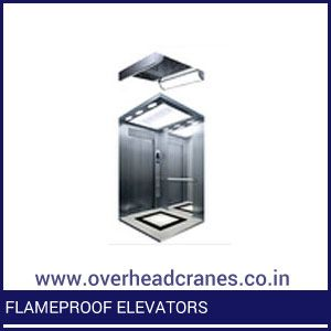 Flameproof Elevators