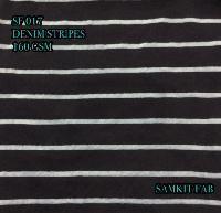 Denim Striped Fabric