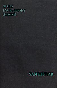 Lycra Jersey Fabric
