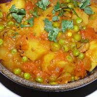 Frozen Aloo Mutter