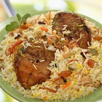 Frozen Fish Biriyani