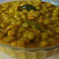Frozen Green Peas Curry