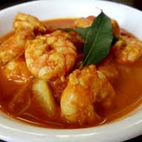 Frozen Shrimp Curry