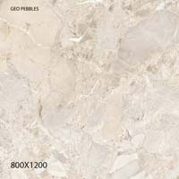 Full Polished Glazed Porcelain Tiles 800x1200mm (Geo Pebbles)