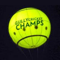 Advertising Sky Balloons (Gully Cricket Champs)