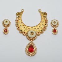 Designer Gold Necklace Set 02