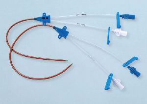 Drug Coated Double lumen Central Venous Catheter