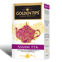 Golden Tips Assam Tea 20 Full Leaf Pyramid Tea Bags