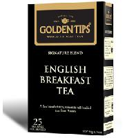 Golden Tips English Breakfast Tea 25 Tea Bags