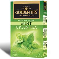Golden Tips Mint Green Tea 25 Tea Bags