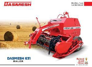 Dasmesh(631) Round Straw Baler 01