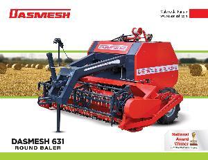 Dasmesh(631) Round Straw Baler 03