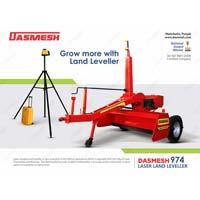 Dasmesh (974) Laser Land Leveler