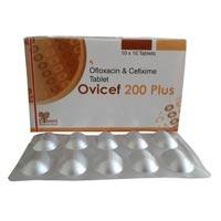 Cefixime 200mg, Ofloxacin 200mg Tablet