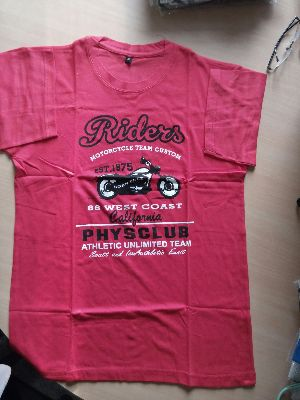 Ladies Round Neck T-shirt 04