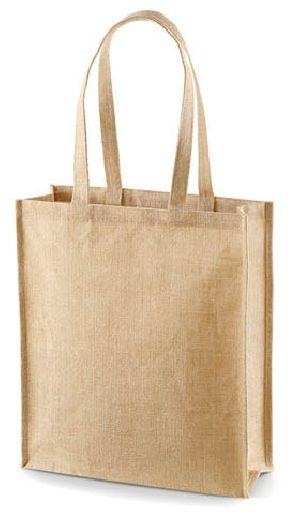W 11 x L 15 x G 4.5 inch Jute Shopping Bag