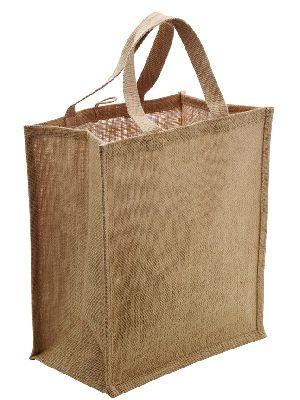 W 12.5 x L 14 x G 4 inch Jute Shopping Bag